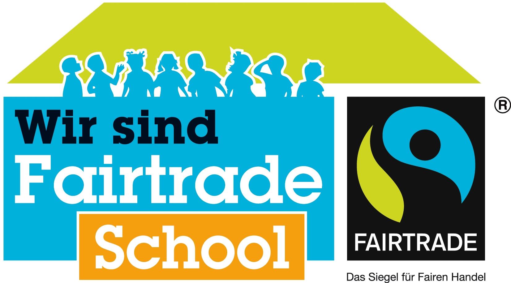 Logo Wir sind Fairtrade School