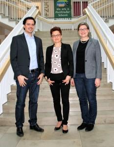 v.l.n.r.: Stefan Fackelmann, Katja Kühne; Julia Singer
